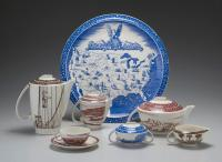 "Description: Tableware, ""Our America"" Pattern"
