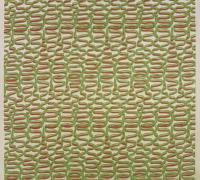 "Description: Length of Fabric, ""Rhythm"" Pattern"