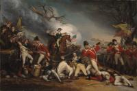 Description: The Death of General Mercer at the Battle of Princeton, January 3, 1777