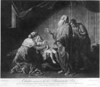 Description: Elisha Restoring the Shunammite's Son