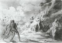 Description: Study for The Death of General Montgomery in the Attack on Quebec