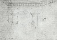 Description: Study for The Declaration of Independence, detail