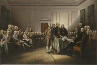 Description: The Declaration of Independence
