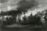 Description: Study for The Surrender of Lord Cornwallis at Yorktown