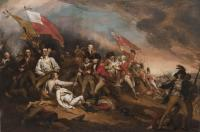 Description: The Death of General Warren at the Battle of Bunker's Hill
