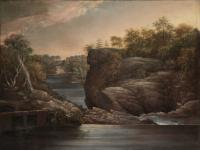 Description: Norwich Falls (or The Falls of the Yantic at Norwich)