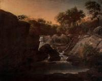 Description: The Falls of the Yantic at Norwich