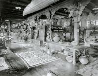 Description: The Indian Room in the Alvarado Hotel, Albuquerque