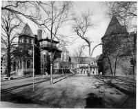 Description: View of George F. Harding's Castle, 4853 South Lake Park Avenue, Chicago (demolished...