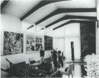 Description: View of Interior of Kraushar Home in Lawrence, New York