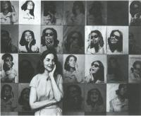 Description: Ethel Scull with Portrait by Andy Warhol