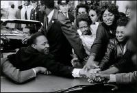 Description: USA. Baltimore, MD. October 31, 1964. Dr. Martin Luther King, Jr. being greeted on...
