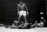 Description: Muhammad Ali Taunting Sonny Liston