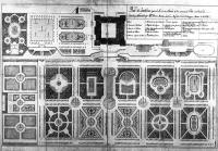 Description: Plan of the gardens for the Palacio Real in Madrid