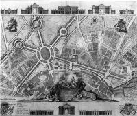 Description: Plan for a system of public walks at Toulouse, designed by Louis de Mondran