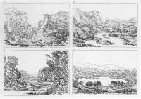Description: The Various Species of Composition of Landscape in Nature: four examples from a...