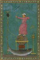 Description: Jahangir shooting at the head of Malik Ambar, Northern India