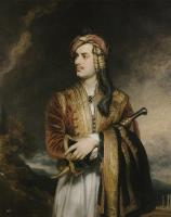 Description: Lord Byron in Albanian Costume