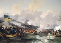 Description: Landing of the British Troops in the Bay of Aboukir . . . On the 8th of March, 1801