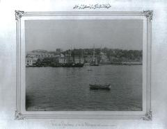 Description: View of Tophane from the sea