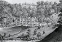 Description: Image of Hope End Mansion, the Moulton-Barrett residence in Herefordshire