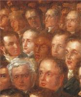 Description: The Anti-Slavery Society Convention, 1840, detail of Edward Barrett