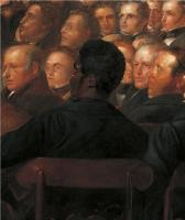 Description: The Anti-Slavery Society Convention, 1840, detail of Henry Beckford